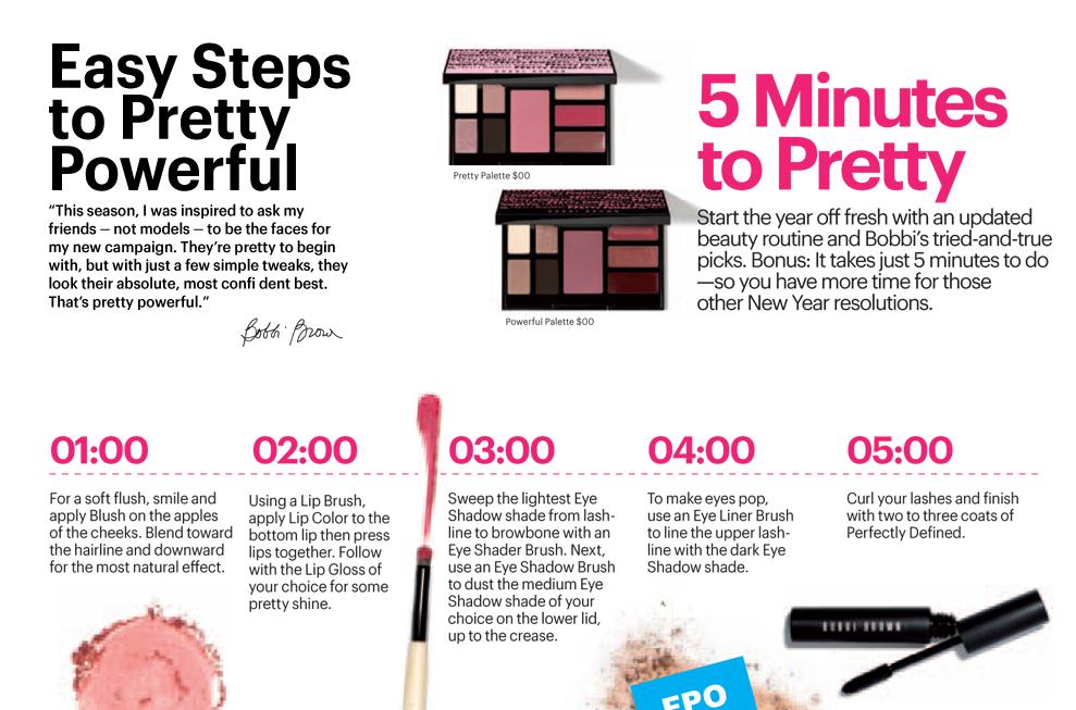 steps to be pretty